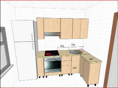 Как самому сделать проект интерьера кухни